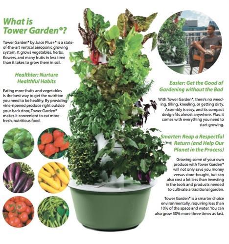 hydro tower garden - Tower Garden